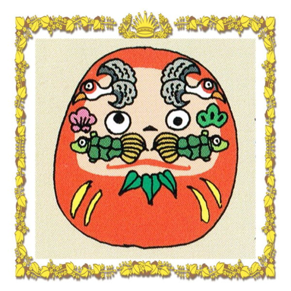 高崎だるまの顔の絵柄の意味